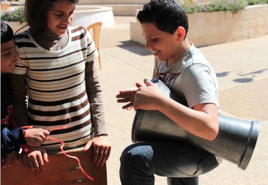 Palestina, Educar para Vivir, EpV