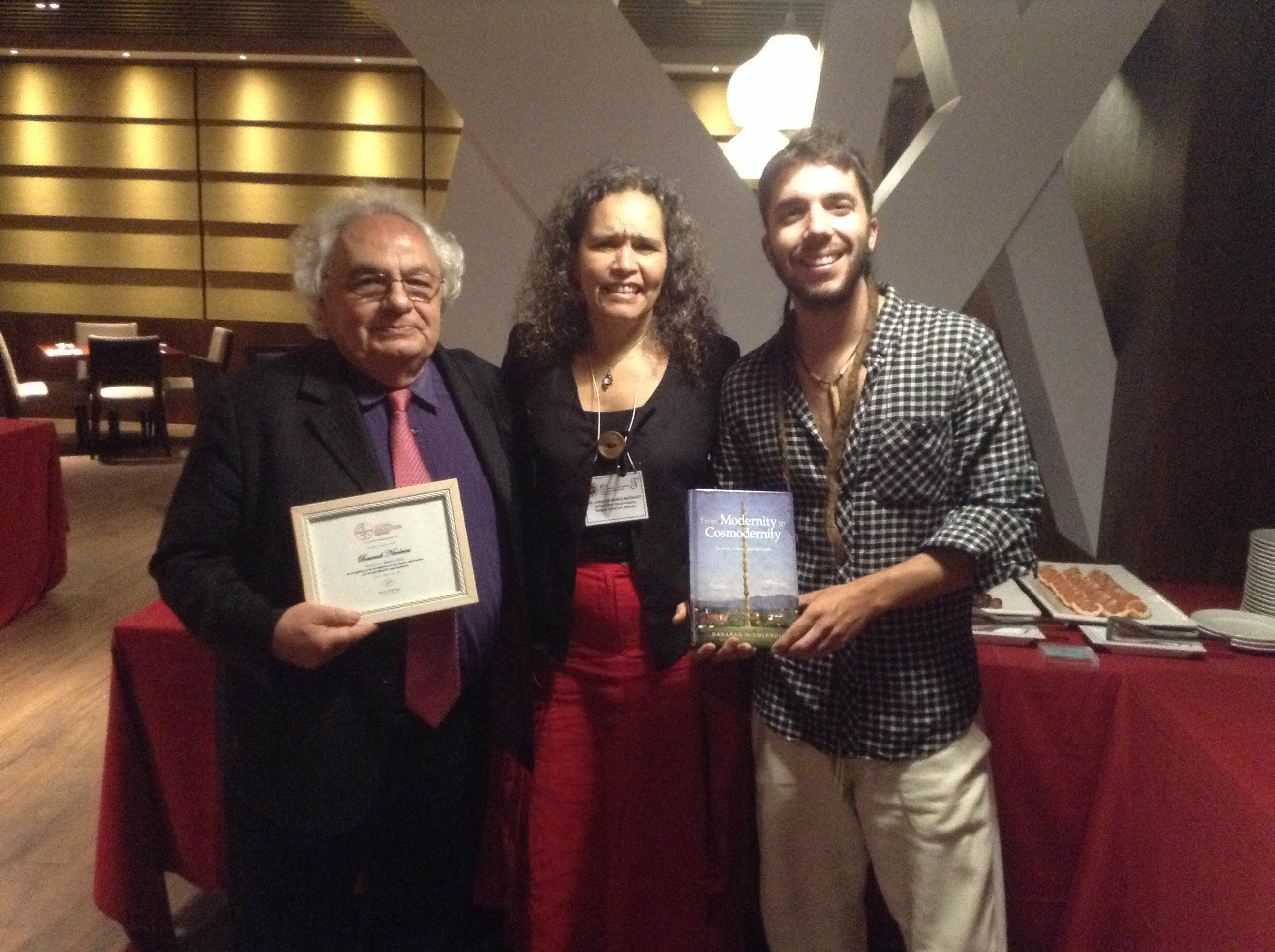Basarab Nicolescu, Cristina Nunez, Javier Collado, transdisciplinary, ATLAS, UNESCO