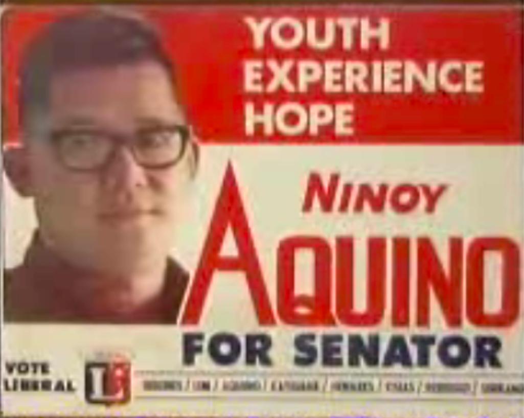 ninoy aquino, philippines, youth hope