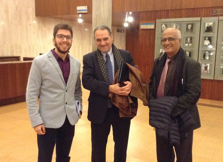 Javier Collado Ruano, Carlos Alberto Torres, Peter Ronal deSouza, global citizenship education, UNESCO Paris